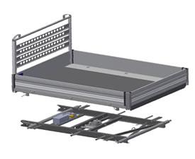Henschel kippers aluminium laadbakken lichte bedrijfswagens